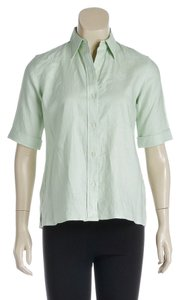 Ralph Lauren Button Down Shirt Green