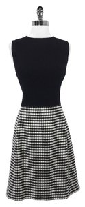 Ralph Lauren Wool & Cashmere Houndstooth Sheath Dress