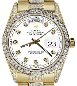Rolex Rolex Yellow Gold Presidential 36MM Day Date Dial Diamond 18KT Gold