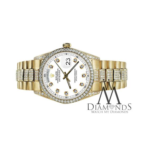 Rolex Rolex Yellow Gold Presidential 36MM Day Date Dial Diamond 18KT Gold Image 1