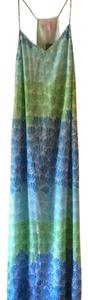 Blues and green Maxi Dress by Lilly Pulitzer