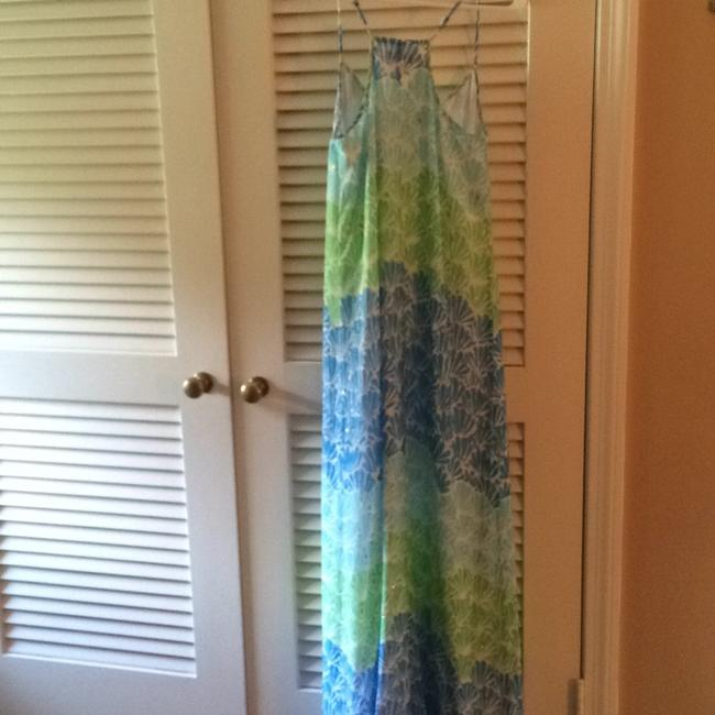 Blues and green Maxi Dress by Lilly Pulitzer Image 5