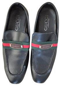 Gucci Leather BLACK Flats