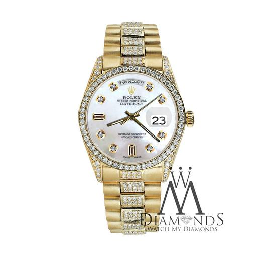 Rolex Rolex Presidential 36MM Day Date Tone Dial Diamond 18KT Yellow Gold Image 1