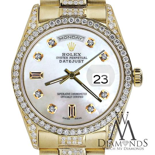 Rolex Rolex Presidential 36MM Day Date Tone Dial Diamond 18KT Yellow Gold Image 2