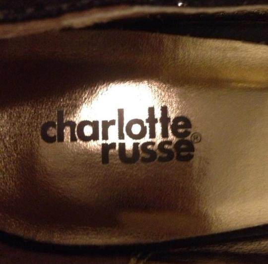 Charlotte Russe Black with sparkles Pumps