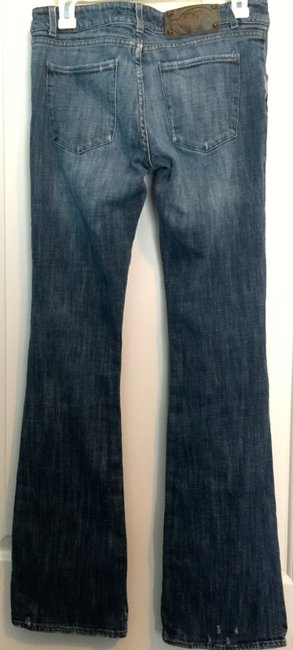 Just Cavalli Sexy Distressed Boot Cut Jeans Image 2