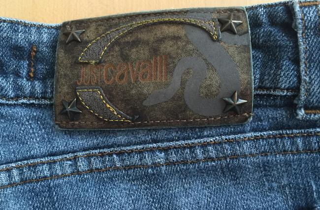 Just Cavalli Sexy Distressed Boot Cut Jeans Image 3