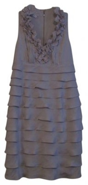 Preload https://item3.tradesy.com/images/london-times-silver-knee-length-cocktail-dress-size-8-m-160657-0-0.jpg?width=400&height=650