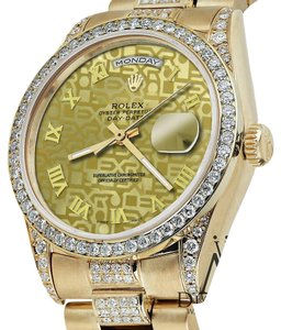 Rolex Rolex Presidential Day Date Gold Jubilee Diamond 18 KT Yellow Gold