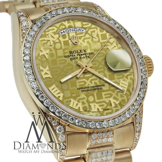 Rolex Rolex Presidential Day Date Gold Jubilee Diamond 18 KT Yellow Gold Image 1