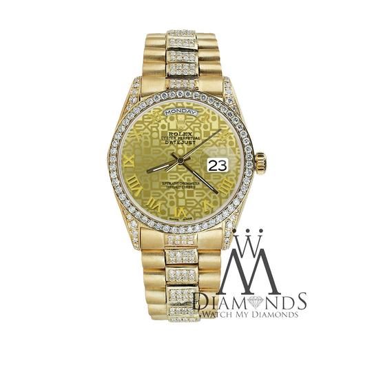 Rolex Rolex Presidential Day Date Gold Jubilee Diamond 18 KT Yellow Gold Image 2