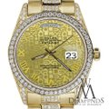 Rolex Rolex Presidential Day Date Gold Jubilee Diamond 18 KT Yellow Gold Image 3