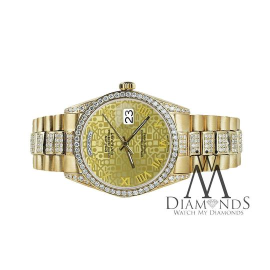 Rolex Rolex Presidential Day Date Gold Jubilee Diamond 18 KT Yellow Gold Image 4