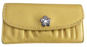 Brighton Brighton large leather wallet with decorative accent