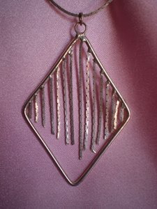 Other Silver fringe necklace