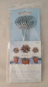Victoria Lynn Silver Table Number Card Holders Centerpiece