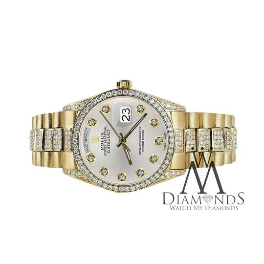 Rolex Rolex Presidential Day-Date Tone Diamond Accent 18KT Yellow Gold Image 1