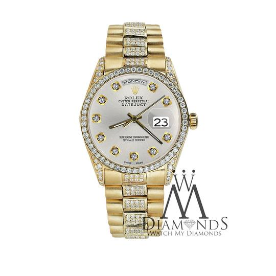 Rolex Rolex Presidential Day-Date Tone Diamond Accent 18KT Yellow Gold Image 2