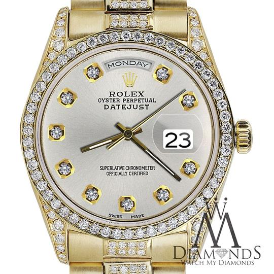 Rolex Rolex Presidential Day-Date Tone Diamond Accent 18KT Yellow Gold Image 3