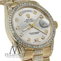 Rolex Rolex Presidential Day-Date Tone Diamond Accent 18KT Yellow Gold Image 4