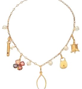 Tory Burch NWT Tory Burch Lucky Charm Necklace