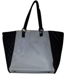 Minicci Tote in Black/white
