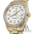 Rolex Rolex Yellow Gold Presidential Day-Date 36MM White Diamond 18 KT Gold Image 2