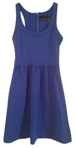 Cynthia Rowley short dress Cobalt blue Athleisure Racer-back on Tradesy