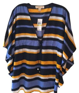 MICHAEL Michael Kors Top Orange/white/navy blue