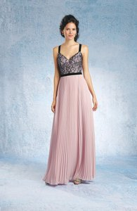 Alfred Angelo Black/Tea Rose 7328l Dress