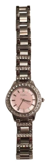 Preload https://img-static.tradesy.com/item/16067326/fossil-silver-pink-watch-0-1-540-540.jpg