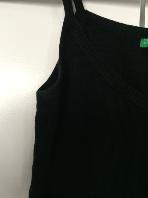 United Colors of Benetton Top Black Image 2