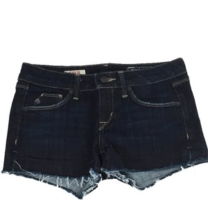 SOLD Design Lab Summer Denim Cutoff Mini/Short Shorts Blue