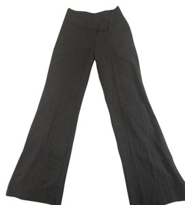 IZ Byer California High Waisted Classic Textured Wide Leg Pants Grey