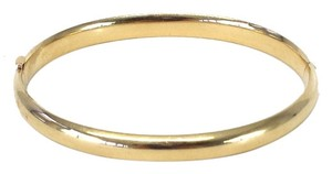 Mandarin & General 14K Gold Hinged Bangle Bracelet