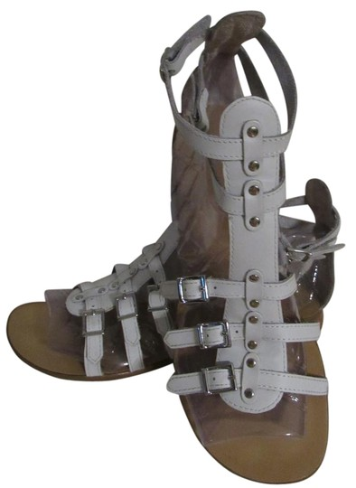 Preload https://img-static.tradesy.com/item/16068436/gianni-bini-white-leather-strappy-with-buckles-sandals-size-us-6-regular-m-b-0-1-540-540.jpg