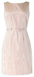 Cynthia Rowley Textured Belted Dress