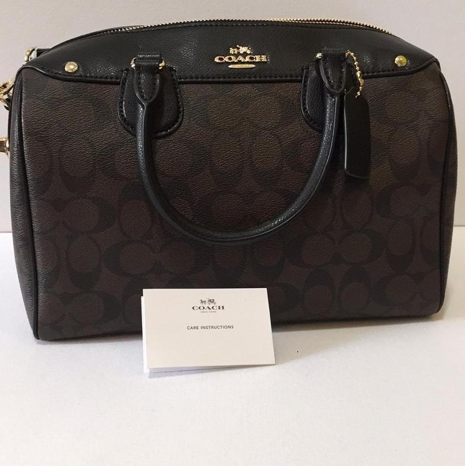 aaae1daefea0 spain coach bennett satchel 299d5 7c5f4  top quality coach satchel in black  brown. 123456789 a7e93 749fa