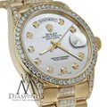 Rolex Rolex Presidential Day-Date White Dial Diamond 18KT Yellow Gold Image 2