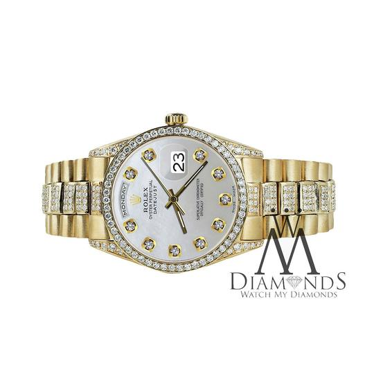 Rolex Rolex Presidential Day-Date White Dial Diamond 18KT Yellow Gold Image 3
