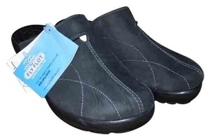Fly Flot Italy Comfort black Mules