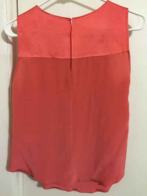 Elizabeth and James Top coral/cherry pink