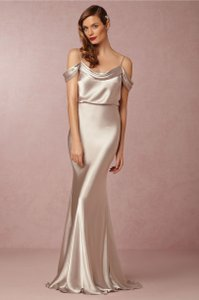 Jenny Yoo Silver Sabine Dress