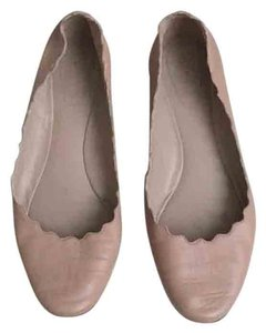 Chloé Nude, pink, beige Flats