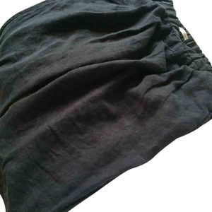 Black Crane Loungewear Relaxed Pants Washed Black