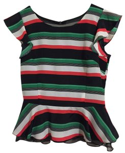 Pinkyotto Top Green/ Black/ Red/ White