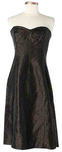 Shoshanna Silk Jacquard Paisley Dress