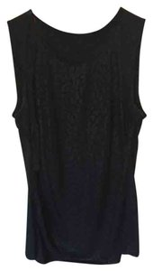 Elie Tahari Shimmer Sexy Top Black