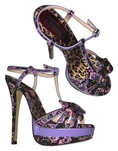 Frederick's of Hollywood Pink Purple Platforms